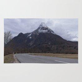 Road Towards Mangart Mountain Rug