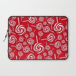 Candy Swirls-Large Laptop Sleeve