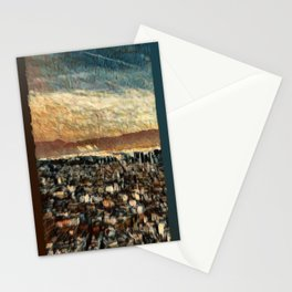 Napoli Skyline Stationery Cards
