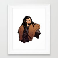 thorin Framed Art Prints featuring Thorin by rdjpwns