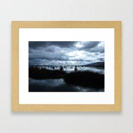 Lake Titicaca (Peru) Framed Art Print