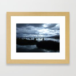 Lake Titicaca (Peru) Framed Art Print