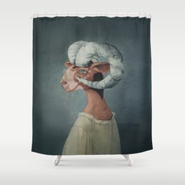 Mr. Green Shower Curtain