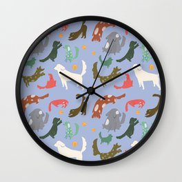 Puppy Playtime Wall Clock