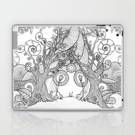 TIME STANDS STILL (pouches, ipads, laptops, pillows) Laptop & iPad Skin