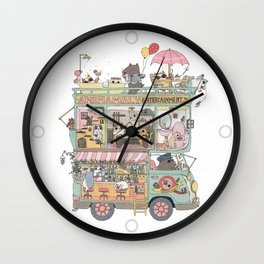 The dream car Wall Clock