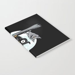 Cute Owl With Friends Notebook