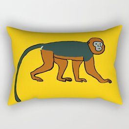 The Intelligent Monkey Rectangular Pillow