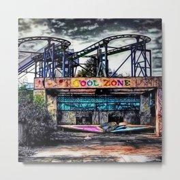 The Cool Zone, Landscape Portrait by Jeanpaul Ferro Metal Print