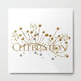 Celebration Metal Print