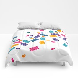 Sweet Jelly Beans & Gummy Bears Comforters