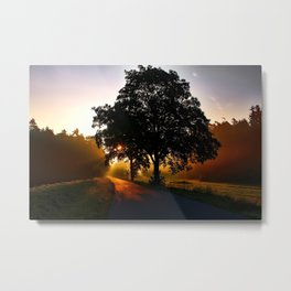 Road to Sunset Metal Print