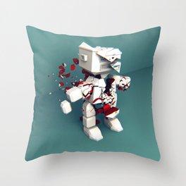 KILL ROBOT Throw Pillow