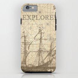 Explore! iPhone Case