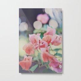 Floral Vintage Metal Print