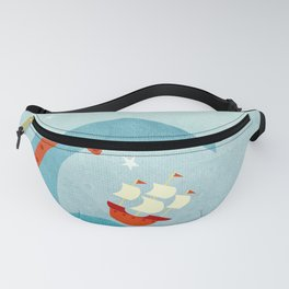 A Bad Day for Sailors Fanny Pack