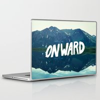 onward Laptop & iPad Skins featuring Onward by Good Sense