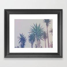 Vintage Palms Framed Art Print
