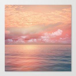 Pastel vibes 55 Canvas Print