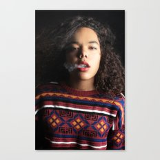Breath. Canvas Print