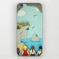 narnia iPhone & iPod Skins featuring Ruins in Narnia? by Deer Heart Sly Fox