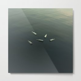 Floating still life Metal Print