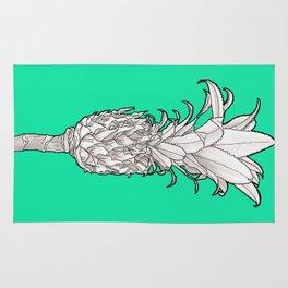 Pineapple - Ananas Arising tropicalteal Rug