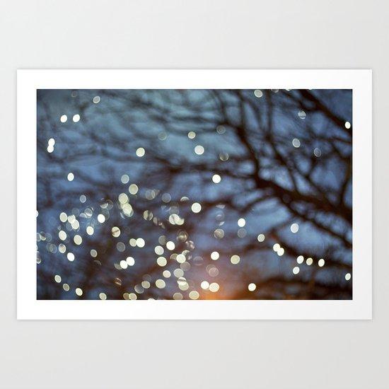 Little Lights Art Print