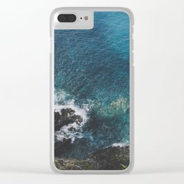 Blue Gem of Hawaii Clear iPhone Case