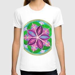 Peaceful Petals Mandala T-shirt
