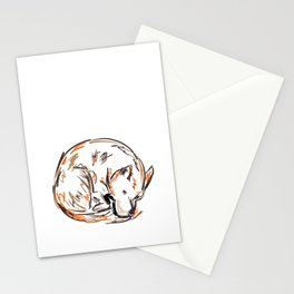 Tero Sleeping I Stationery Cards