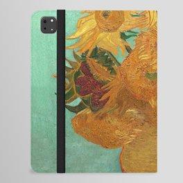 Vincent Van Gogh Twelve Sunflowers In A Vase iPad Folio Case