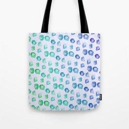 Nerd Dice Skin Tote Bag