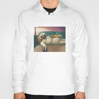 sloth Hoodies featuring Sloth by Ken Coleman