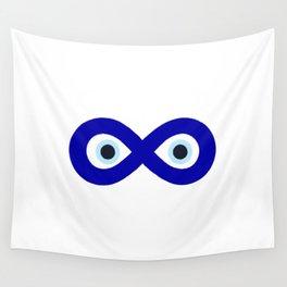 Evil Eye Amulet Talisman - Evil Eye Symbol - Blue Evil Eye Wall Tapestry