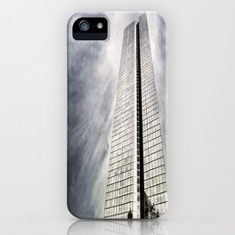 Boston [Sky cut 410] Massachussets, Usa iPhone Case