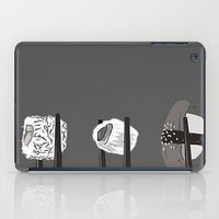 sushi iPad Cases featuring Sushi! by Caitlin Krupinski