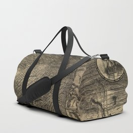 Bird's Eye View of St. Louis, Missouri (1876) Duffle Bag