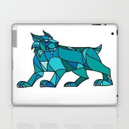 Bobcat Prowling Mosaic Laptop & iPad Skin