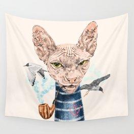 Sphynx Cat II Wall Tapestry