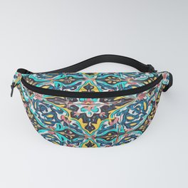 Traditional ceramic tile design Portugal Fanny Pack