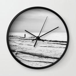 Silent Waves Wall Clock