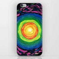 big bang iPhone & iPod Skins featuring Big Bang by Shalimar Luis