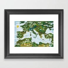 European Toys Framed Art Print