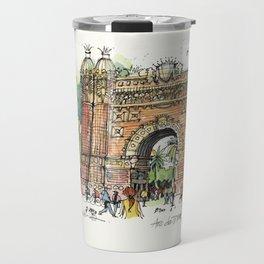 Arc de Triomf, Barcelona Travel Mug