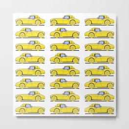 Lemon Car - I Metal Print