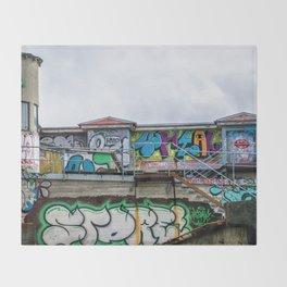 Urban Assault Throw Blanket