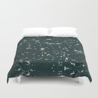 stone Duvet Covers featuring Stone by Judith Abbott