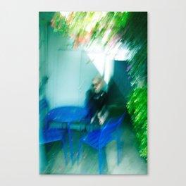 Girl Blur Canvas Print