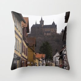 Wernigerode Castle Throw Pillow